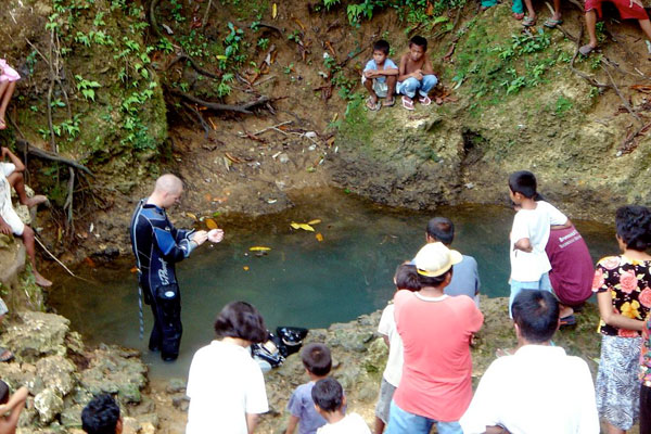 cebu cave diving technical diving expeditiion philippines