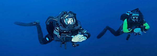 technical diving malapascua philippines evolution divers