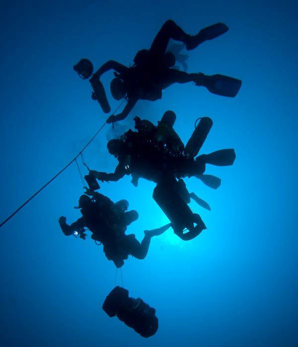 technical diving training cebu malapascua philippines evolution divers
