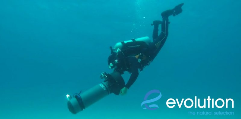 diver propulsion vehicle courses evolution diving resort malapascua philippines