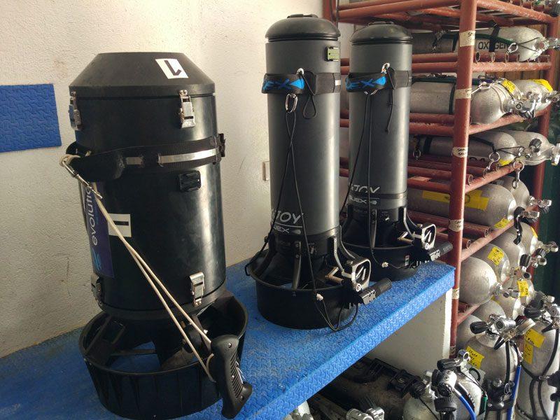 diver propulsion vehicles evolution diving malapascua