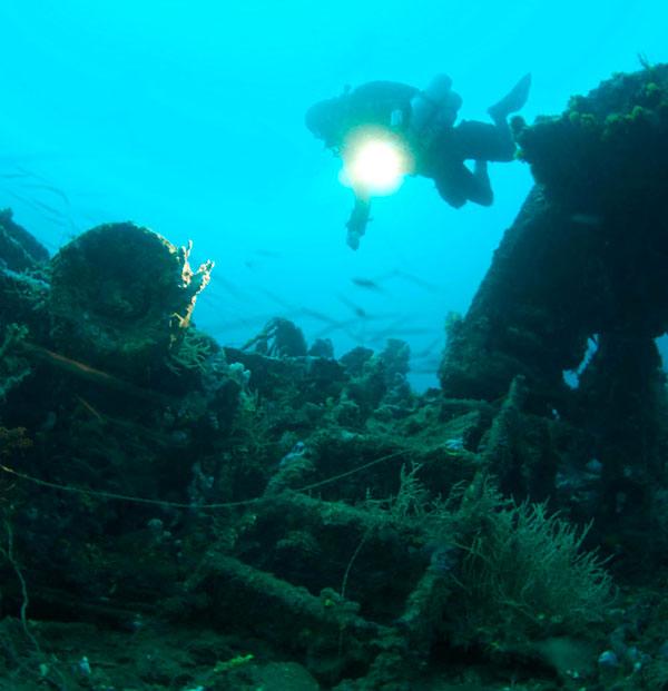 technical diving malapascua philippines asia evolution divers