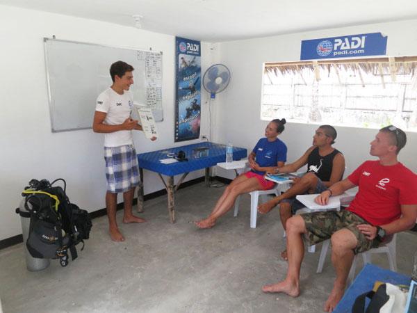 scuba diving courses malapascua
