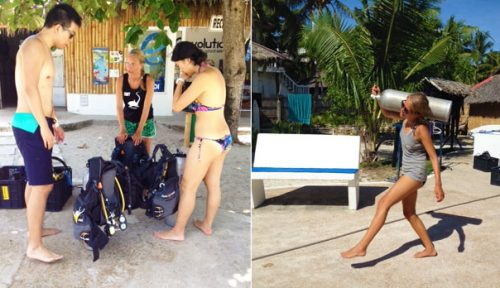 divemaster training malapascua philippines