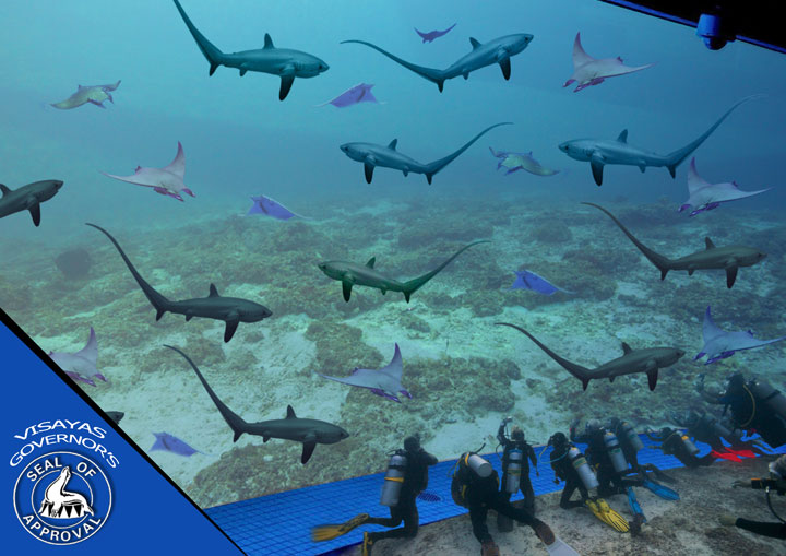 Malapascua will be home to World's Largest Submerged Aqaurium
