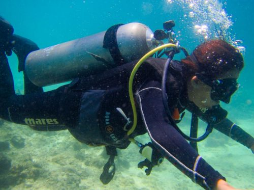 padi scuba courses evolution diving resort malapascua