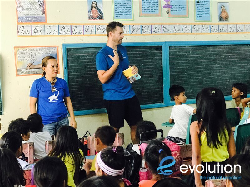 kids book club evolution diving resort malapascua