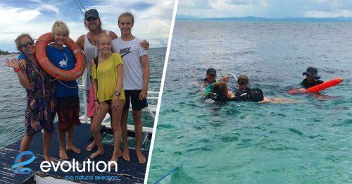 padi rescue diver course evolution diving resort malapascua