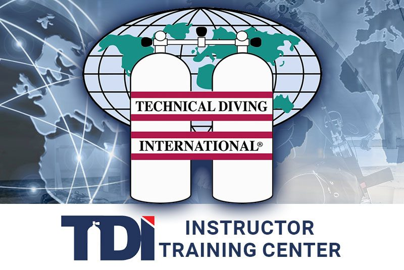 evolution diving resort tdi tech diving instructor training center