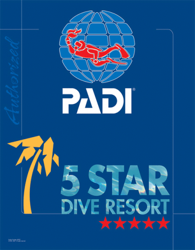 padi 5 star diving resort