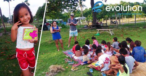 kids book club evolution dive resort malapascua