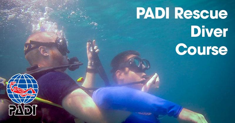 padi rescue diver course malapascua philippines
