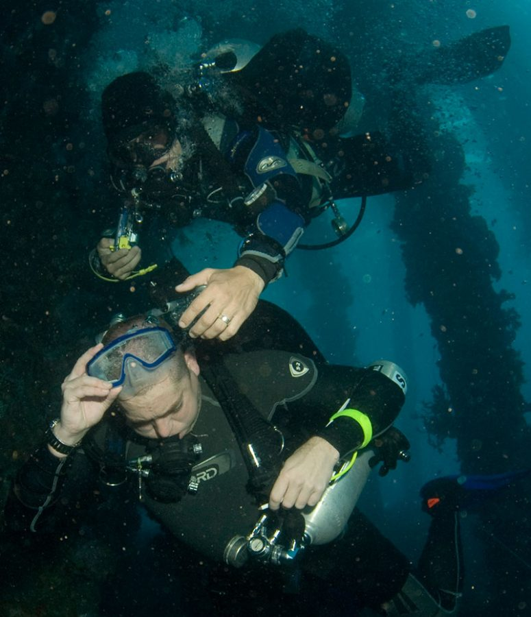 technical diving training evolution malapascua philippines