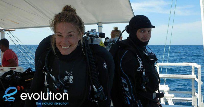 padi divemaster course evolution diving resort philippines
