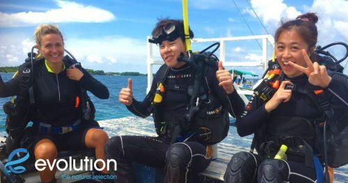 padi open water course malapascua cebu philippines
