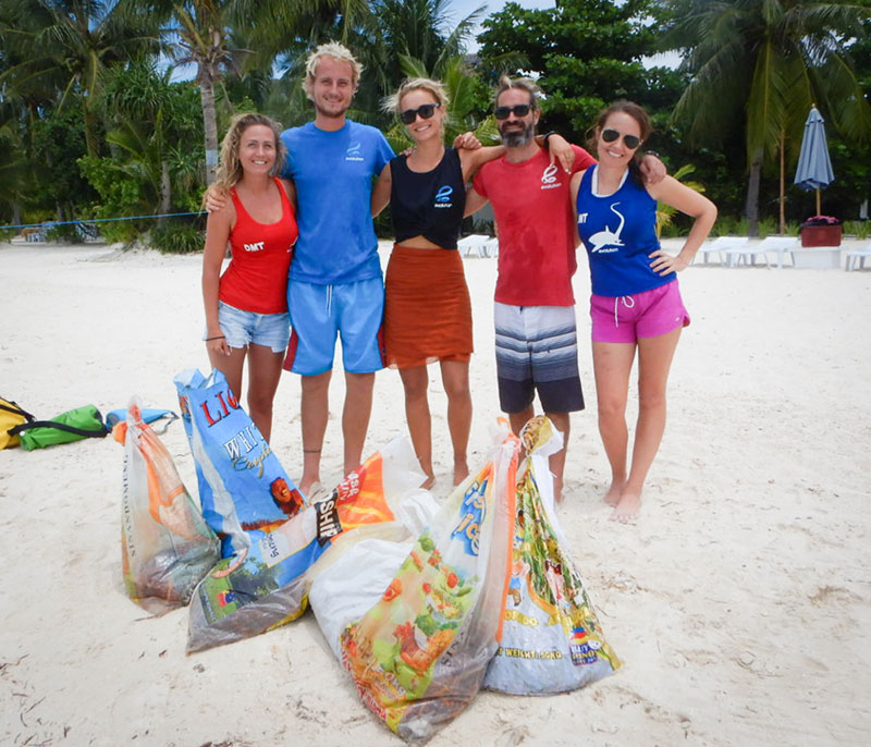 saving the reef evolution dive resort philippines