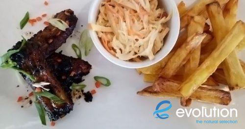 sticky ribs craic house restaurant evolution diving resort malapascua