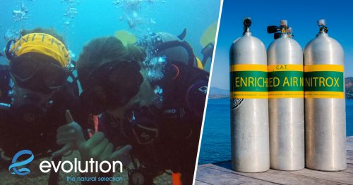 Enriched Air Nitrox Specialty Course evolution diving resort philippines