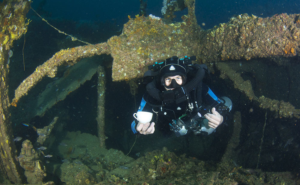 dannie holmstedt evolution diving resort