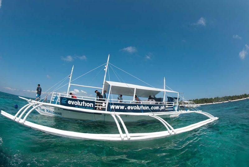 dive boat haldane evolution dive resort