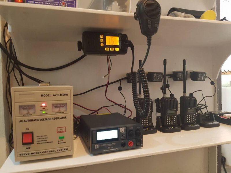 evolution diving resort boat radios