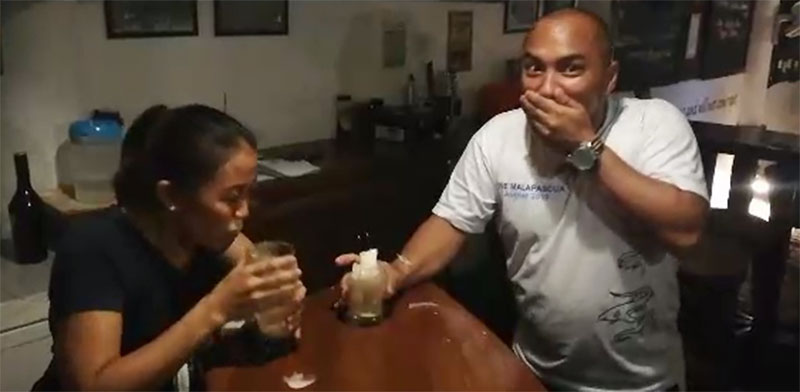 irish car bomb the craic house restaurant malapascua
