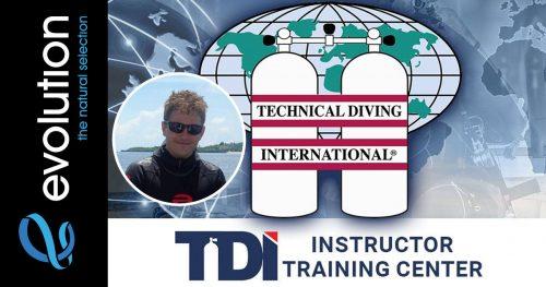 tdi instructor trainer dannie evolution diving resort malapascua