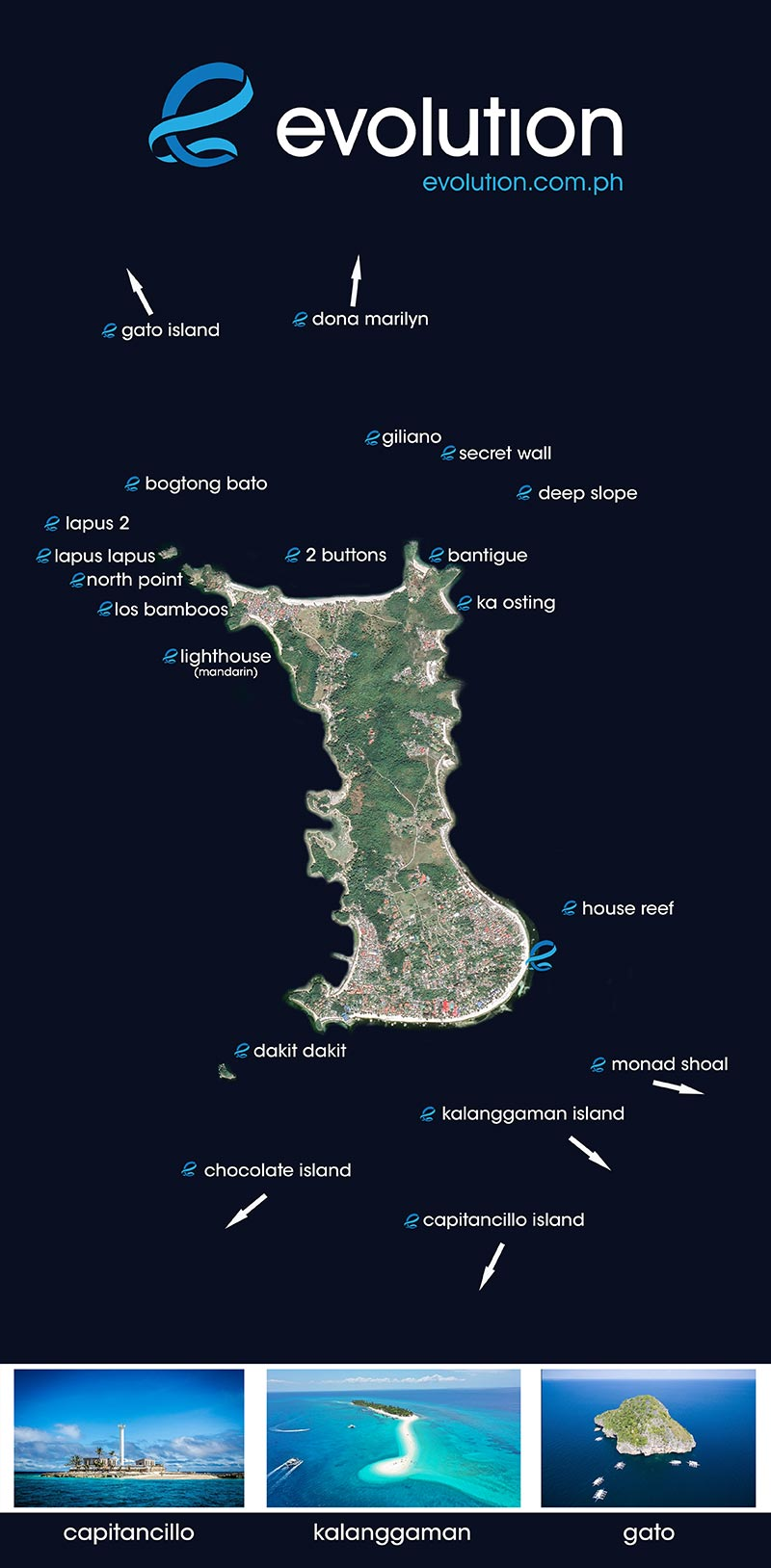 Malapascua dive sites, Philippines